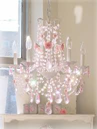 pink chandelier would make such a big difference in a girls room add some sheer chandelier girls room
