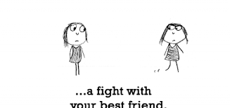SAD QUOTES ABOUT FRIENDS FIGHTING image quotes at relatably.com via Relatably.com
