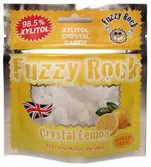 <b>Кристаллы ксилитола Fuzzy</b> Rock Лимон 40 г — купить по ...
