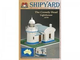 <b>Сборная картонная модель</b> Shipyard маяк Crowdy Head ...