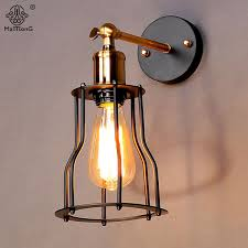 2019 Loft Iron Industrial <b>Wall</b> Light <b>Adjustable New Design</b> E27 ...