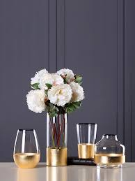 Buy 1 Pc <b>Glass</b> Vase <b>Modern Brief</b> Style Transparent Flower ...