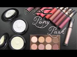 <b>MAC PONY PARK</b> Collection: Real Swatches & Review - YouTube