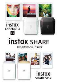 <b>Принтер</b> для смартфонов <b>instax SHARE</b> SP-2 / SP-3   <b>FUJIFILM</b>