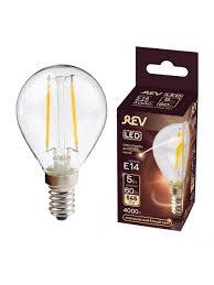 <b>Лампочка</b> светодиодная FILAMENT, шар E14 5W 4000K <b>DECO</b> ...