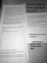 so you want to be a substitute teacher part two tips of the image