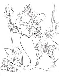 Small Picture Disney Printable Coloring Pages Ariel Coloring Pages