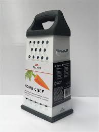 <b>Терка 4 грани</b> Home Chef, с белым покрытием Protect ,11x9x24см ...