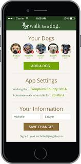 best ideas about dog walking camping gadgets the walk for a dog app from wooftrax lets users help animal shelters