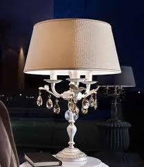 <b>Настольная лампа</b> Allure TL3 P13/DAM/43/GD-CREAM Swarovski ...