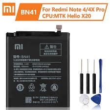 XiaoMi <b>Original</b> Replacement Battery BN41 For <b>xiaomi Redmi</b> Note ...