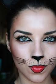 easy kitty makeup easy last minute costume idea throw on all black or something leopard print and call it a costume