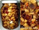 Рецепты из баклажанов заготовки как грибы