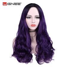 <b>Wignee Wavy Hair</b> Synthetic Wig For Women High Density Heat ...