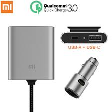 <b>Original Xiaomi</b> Car Charger QC3.0 Fast Version Extended ...