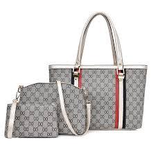 New Woman <b>Bag</b> Set <b>Fashion</b> 3 PCS Ladies <b>Handbag Europe Style</b> ...