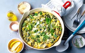 <b>Low-and</b>-Slow <b>Spring</b> Onion Frittata | MyFitnessPal