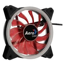 <b>Вентилятор</b> для корпуса <b>AEROCOOL REV</b> RED 120 <b>120 mm</b> RED ...