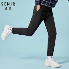 SEMIR мужские обтягивающие хлопковые <b>брюки</b> мужские <b>брюки</b> ...
