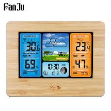 FanJu FJ3373 Метеостанция Цифровой <b>термометр</b> гигрометр ...