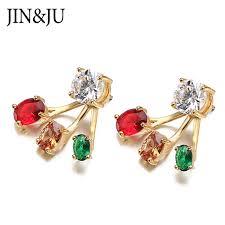 <b>JIN&JU Women Jewelry Fashion</b> New Candy Colored Glass ...