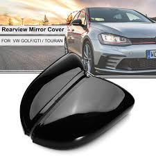 <b>A Pair</b> Wing <b>Rear View</b> Mirror Case Cover Trim Cap For VW Golf GTI ...