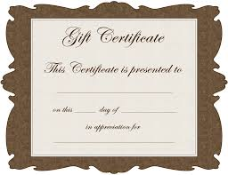 cool gift certificate template 68 in card invitation ideas gallery photos of gift certificate template
