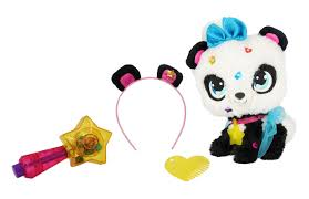 "<b>Плюшевая панда</b> ""<b>SHIMMER STARS</b>"" с сумочкой - 20 см — купить ..."