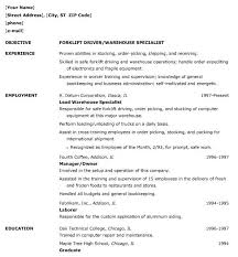 resume objective warehouse position warehouse position resume    sample resume for warehouse job   template   template