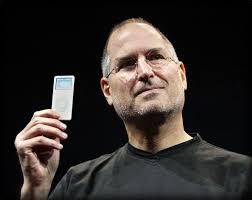 Steve Jobs holding iPad nano - Steve-Jobs-holding-iPad-nano