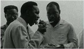 Image result for general yakubu gowon and odumegwu ojukwu in embrace