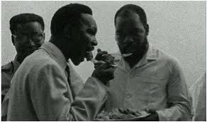 Image result for general yakubu gowon and odumegwu ojukwu in embrace