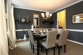 Dining Room Curtain Gray Paint Colors For Dining Room With White Curtains And Modern