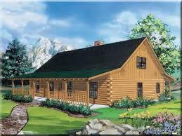 Satterwhite Log Homes   The Texan w loftThe Texan w loft