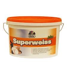 <b>Краска</b> для стен и потолков белоснежная <b>dufa Superweiss</b> Plus 5 л