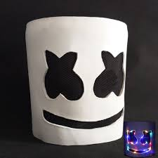 <b>New</b> 2019 <b>Led Marshmello Dj</b> Mask for Party Smile Face Kids Adult ...