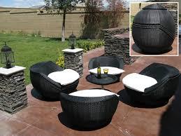 garden furniture patio uamp: vidaxlcouk black poly rattan garden furniture set chairs table rattan patio chair