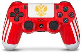 <b>Геймпад RAINBO DualShock</b> 4 National team Russia — купить по ...