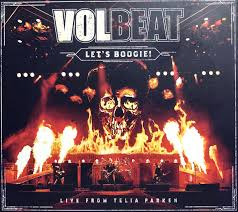 <b>Volbeat</b> - <b>Let's Boogie</b>! Live From Telia Parken (2018, Digipak, CD ...