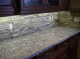 backsplash ideas stacked stone