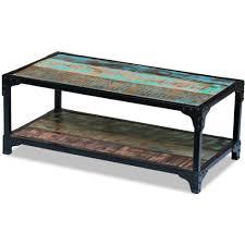 Moksha <b>Coffee Table Solid Reclaimed</b> Wood - Walmart.com