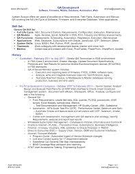 mainframe bperformance btester bresume resume template qa resume    resume