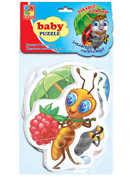 <b>Мягкие пазлы</b> Насекомые <b>Vladi Toys</b> 9171091 в интернет ...