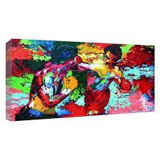 2019 <b>UNFRAMED Modern</b> Oil Painting Rocky Vs Apollo Leroy ...