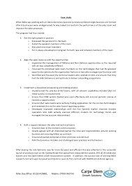 Case Study for Management