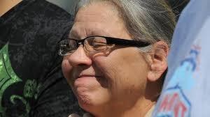 Nancy Ruiz, la madre de Gina, tras su vuelta a casa / AFP. 1403816455. 09/05/2013. Facebook (Me gusta) - Nancy-Ruiz-Gina-vuelta-AFP_TINIMA20130509_1291_18