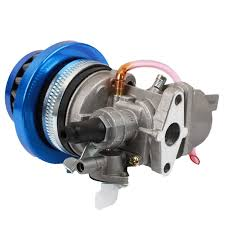 Carburetor Carb Carby + Blue Air Filter + Stack For 2 Stroke 47Cc ...