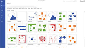 working with basic diagrams in microsoft visio   making    right away  you   recognize a few interesting looking choices in the template gallery