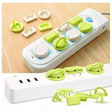 Buy Max Home <b>6 Pcs</b>/Set Electrical <b>Socket</b> Covers for Child Safety ...