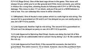 How to Fight <b>Asuka</b> : <b>Tekken</b>
